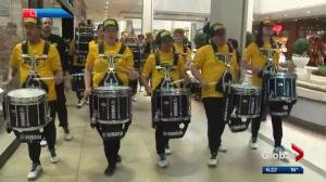 Event held to launch Edmonton Eskimos' 2018 CFL season
