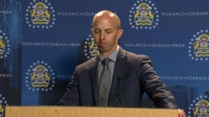 RAW: Calgary police charge woman in 2017 homicide