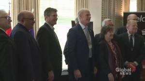 Ontario's auto mayors meet in Oshawa (01:25)