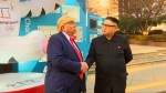 Donald Trump, Kim Jong Un impersonators spotted before Olympics opening ceremony