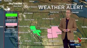 Edmonton Weather Forecast: July 3
