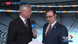 A conversation with the Oilers' in-house announcer