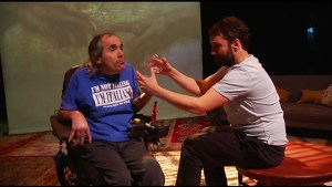 Play imitates the lives of four people affected by Cerebral Palsy