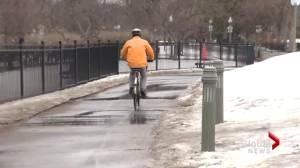 Lachine bike path closed