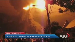 Lac-Mégantic train engineer apologizes for his role in disaster