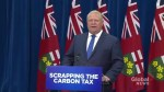 Premier-designate announces 1st move in office will be scrapping cap and trade