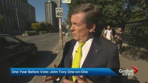 John Tory says he's made progress on promises