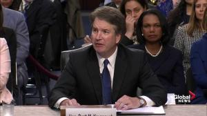 President Trump's Supreme Court nominee, Brett Kavanaugh makes opening remarks at confirmation hearing