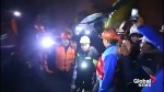 Trapped miners rescued in Peru