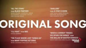 91st Academy Award Nominations: Best Original Song