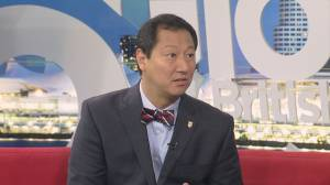 UBC's new president Santa Ono