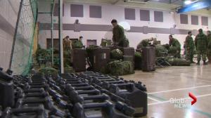 Military arrives in New Brunswick to help with storm clean up