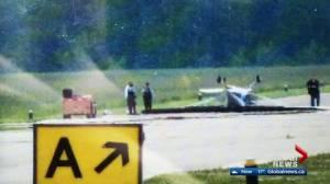 Cessna plane crashes at Parkland Airport west of Edmonton