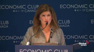 Rona Ambrose attacks Liberal economic plan on eve of federal budget