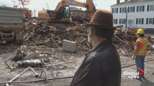 'Tonnes and tonnes' of material salvaged prior to demolition of century old Saint John homes