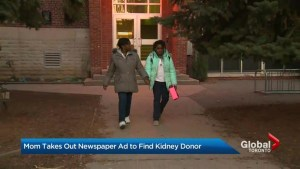 Desperate mother turns to classified ads to find kidney donor