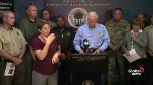 Hurricane Florence: S.C. governor confirms more deaths in state (00:50)