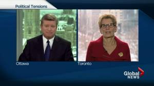 This is not about personality or publicity: Wynne