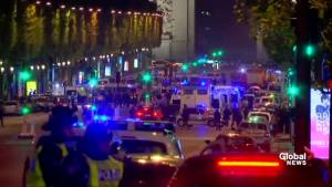 Paris shooting: 1 police officer killed, 1 injured after shooting on Champs-Elysees