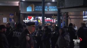 2 NYPD officers shot during apparent robbery in Queens, New York