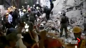 Mexican army continues rescue efforts in Mexico after major earthquake