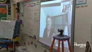 Bon Jovi Skypes school kids in Alberta