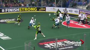 Rochester Knighthawks hold off Saskatchewan Rush for 13-10 win