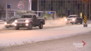 Snow slows down Thursday morning commute in Winnipeg