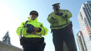 Coquitlam RCMP reveal new traffic enforcement plan with cardboard cops
