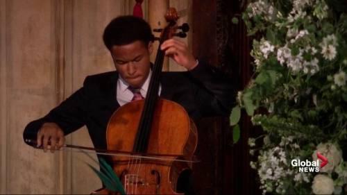 Royal Wedding: Teenage cellist performs at Prince Harry, Meghan ...
