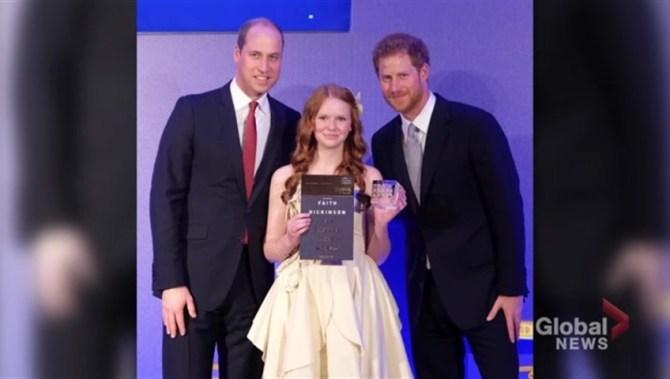Ontario teen Faith Dickinson receives invite to royal wedding
