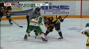 Humboldt Broncos score 1st goal in season opening game