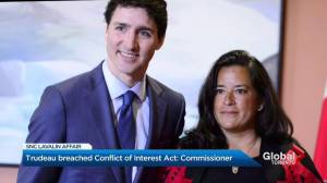 Trudeau broke ethics rules by trying to exert influence in SNC-Lavalin scandal: report