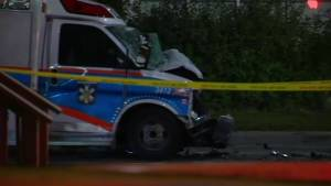 Head-on collision with an ambulance leaves driver dead