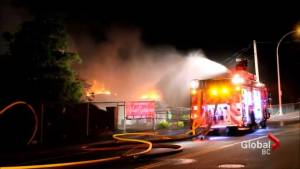 Fire destroys Ledgeview Golf Course's clubhouse in Abbotsford