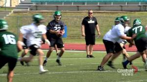 New QB behind centre as Saskatchewan Huskies open training camp