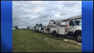 Peterborough lineman helping in Florida