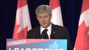 Harper supporters applaud PM's refusal to answer questions about Duffy trial