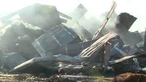 Aftermath of 5.6 earthquake near Pawnee, Oklahoma