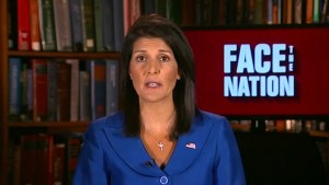 "Haley on Trump tweets: ""It's chatter I don't focus on"""
