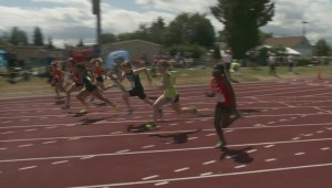 Day two of BC Summer Games in Cowichan Valley