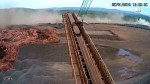 Caught on camera: Terrifying moment of Brazil dam collapse