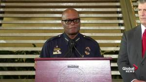 Dallas police chief begs the public for support following deadly shootings