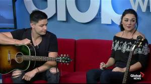 Kendra Kay performs live on Global News Morning
