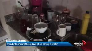 Heat, water, and electricity still not restored at 260 Wellesley