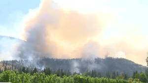 Evacuation alert in place for Eagle Bluff fire