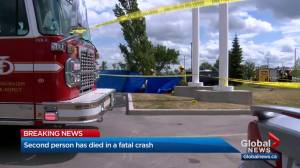 Second person dies after crash in southeast Calgary