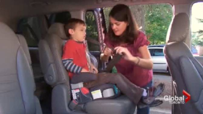 Parents Moving Kids Out Of Booster Seats Too Early Study