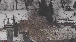 One person dead after house explosion north of Toronto