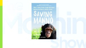 'Saving Manno,' a book on unlikely bond with a chimpanzee